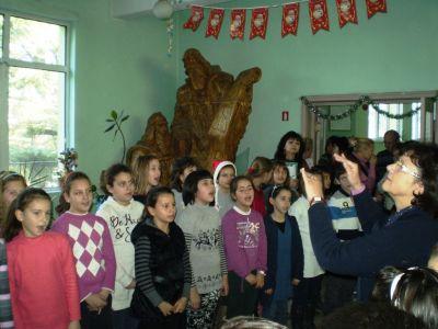 Коледен поздрав - ОУ Св. Св. Кирил и Методий - Карлово