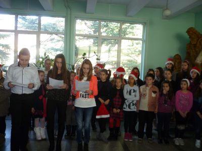 Коледен поздрав 3 - ОУ Св. Св. Кирил и Методий - Карлово