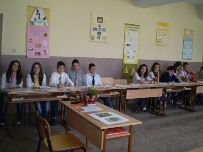 Открит урок по литература - ОУ Св. Св. Кирил и Методий - Карлово