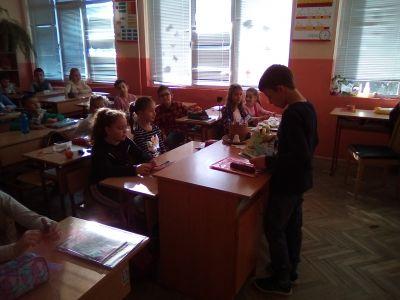 НАЦИОНАЛНА СЕДМИЦА НА ЧЕТЕНЕТО - ОУ Св. Св. Кирил и Методий - Карлово