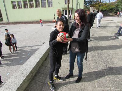 Спортен празник 31.10.2019 - ОУ Св. Св. Кирил и Методий - Карлово