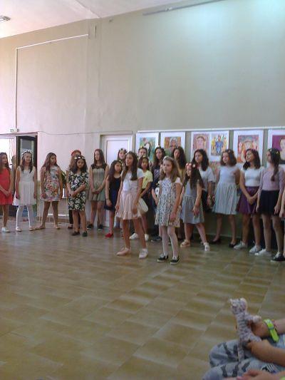 Oткриване на изложба - ОУ Св. Св. Кирил и Методий - Карлово